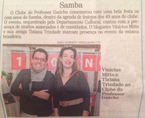 Colunas Clubes por Thamara Pereira - Correio do Povo